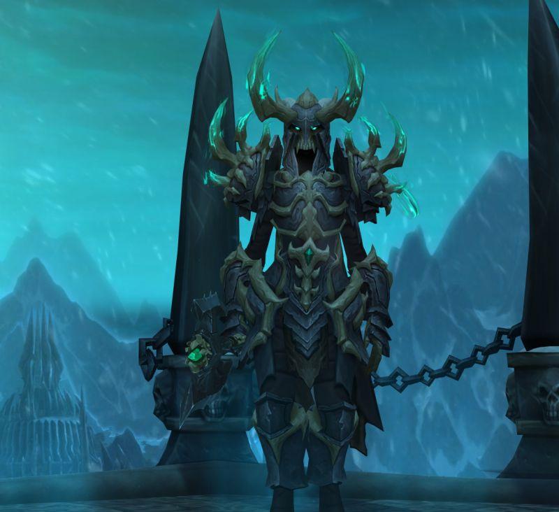 Maldraxxi Plate Armor actually looks nice on DKs